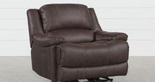 Garth Chocolate Cuddler Power Recliner | Living Spaces
