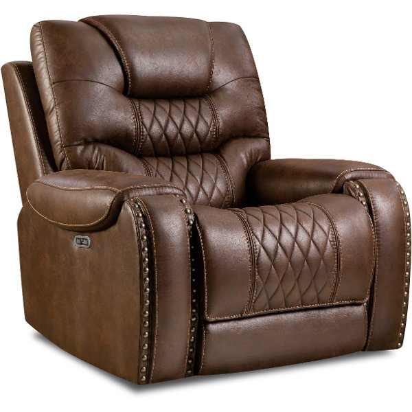 Fabric reclining chairs and rocker recliner chairs | RC Willey