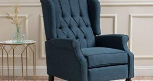 Amazon.com: GDF Studio | Elizabeth | Button-Tufted Fabric Recliner
