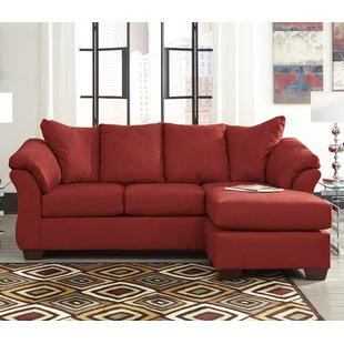L-Shaped Red Sectionals You'll Love   Wayfair
