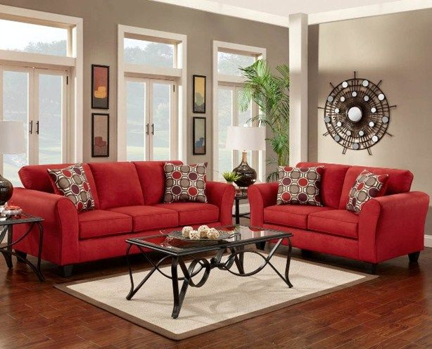 Why red sofa and loveseat is the new trend