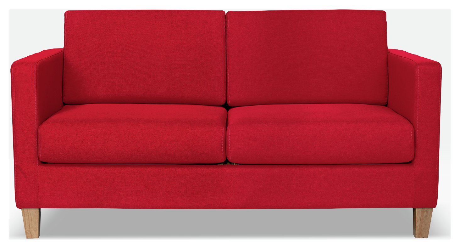 Buy Argos Home Rosie 2 Seater Fabric Sofa Bed - Red | Sofa beds