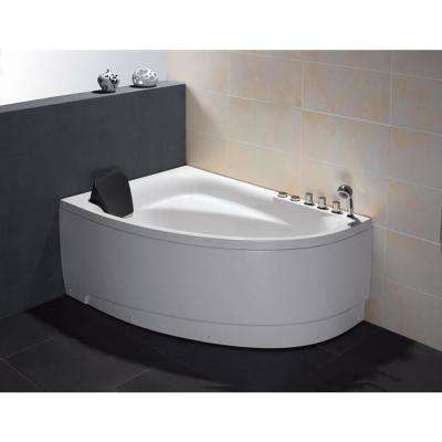 Right - Corner Bathtubs - Bathtubs - The Home Depot