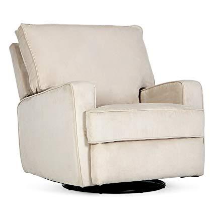 Amazon.com: Belleze Recliner Swivel Chair Armrest Padded Backrest