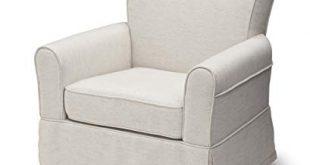 Amazon.com: Delta Children Upholstered Glider Swivel Rocker Chair