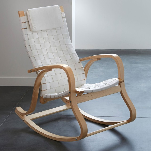 Rocking chair, design, jimi La Redoute Interieurs   La Redoute
