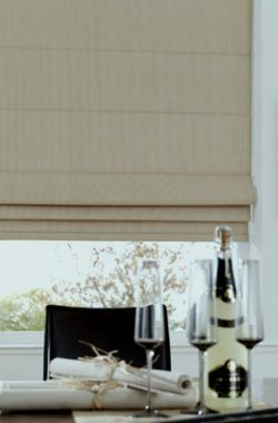 Roman blinds – give you   classical and contemporary look