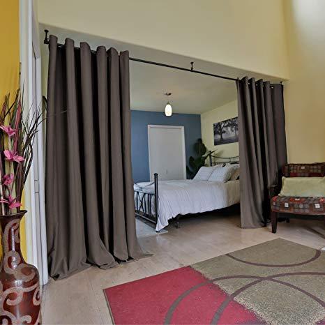 Amazon.com: RoomDividersNow Premium Heavyweight Room Divider Curtain