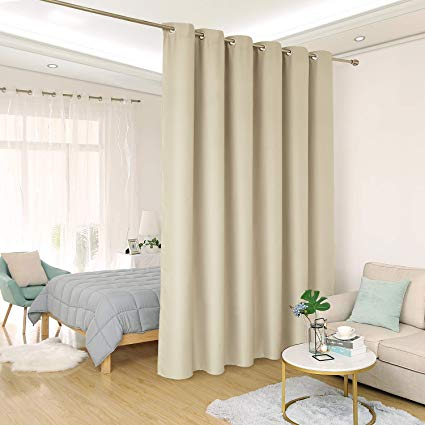 Amazon.com: Deconovo Privacy Room Divider Curtain Thermal Insulated