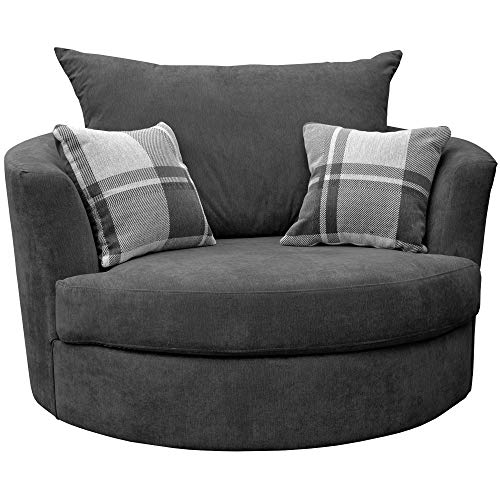 Swivel Chairs for Living Room: Amazon.co.uk