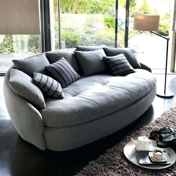 Circular Loveseat Sofas And Round Swivel Chair u2013 VinnyMo