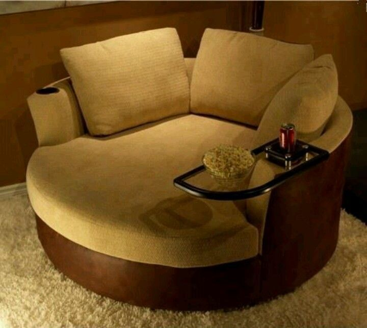 An overview of round loveseat   chair