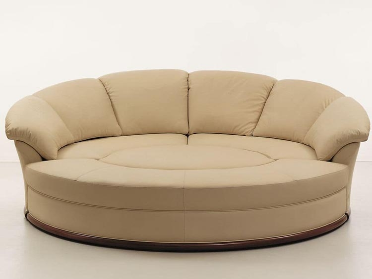 New Round Loveseat Sofa Ambientopoffers, Round Loveseat Sofa