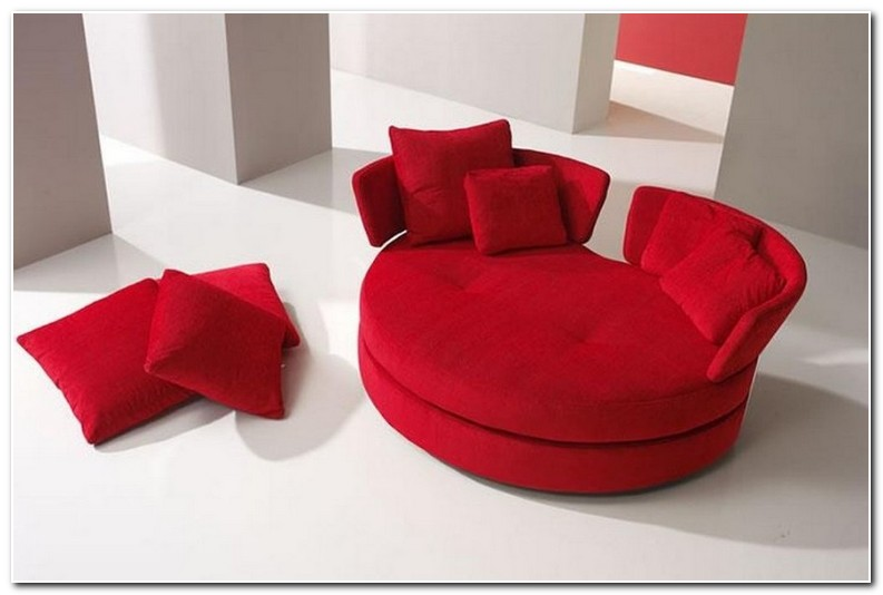 Round Loveseat Sofa | Furniture Modern and Unique Design