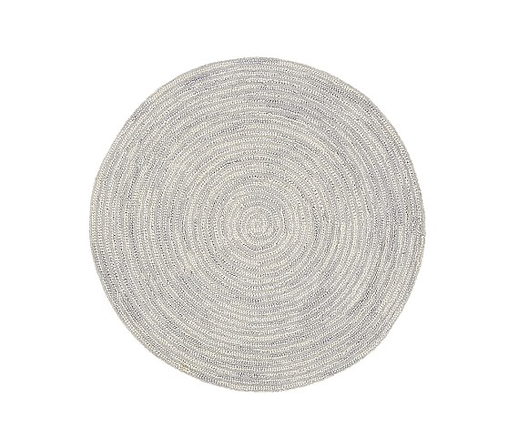 Round Mercer Rug | Pottery Barn Kids