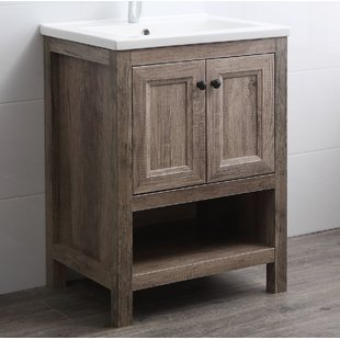 Rustic Wood Bathroom Vanities You'll Love | Wayfair