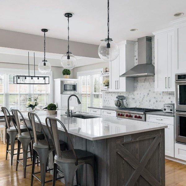 Top 60 Best Rustic Kitchen Ideas - Vintage Inspired Interior Designs