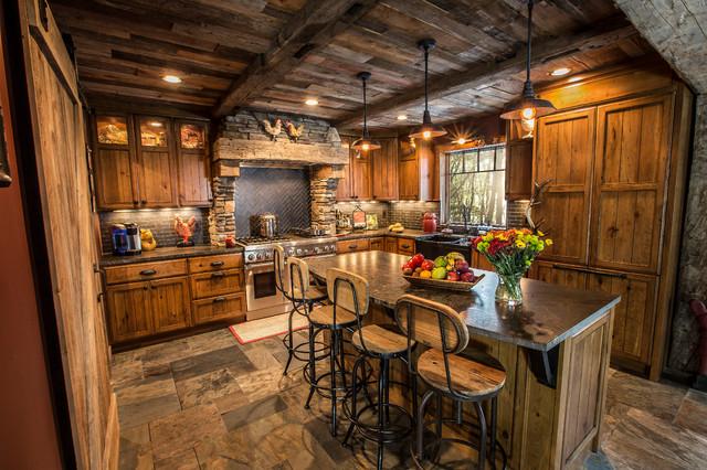 Rustic Kitchen Renovation - Rustic - Kitchen - Minneapolis - by