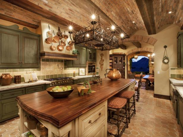 Rustic Kitchen Cabinets: Pictures, Ideas & Tips From HGTV | HGTV