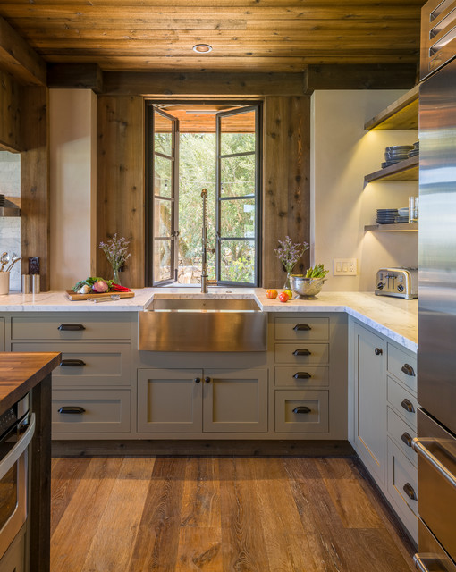 Sonoma Kitchen - Rustic - Kitchen - San Francisco - by Barbra Bright