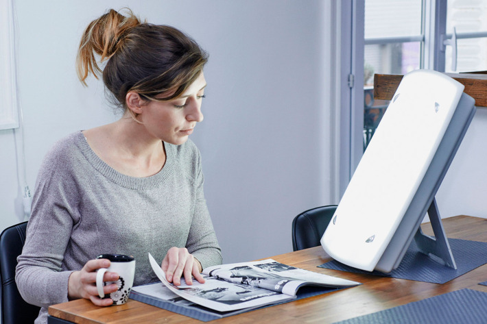 Sad lamp is effective for people suffering from seasonal affective