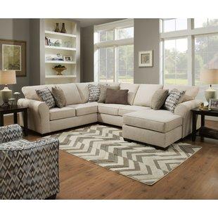Double Chaise Sectional Sofa   Wayfair