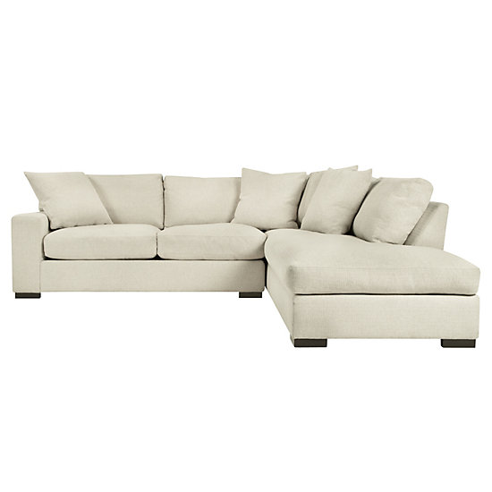 Del Mar Sectional Sofa | Chic Sectional Couch | Z Gallerie