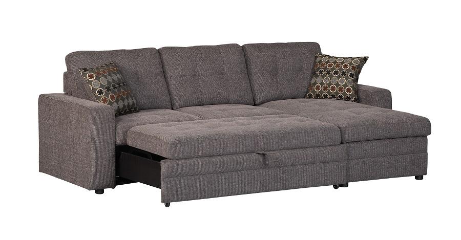 Gus Collection 501677 Coaster Sleeper Sectional Sofa
