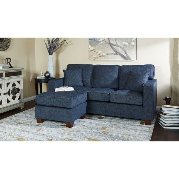 Shop Copper Grove Cleome Reversible Chaise Sectional Sofa - On Sale