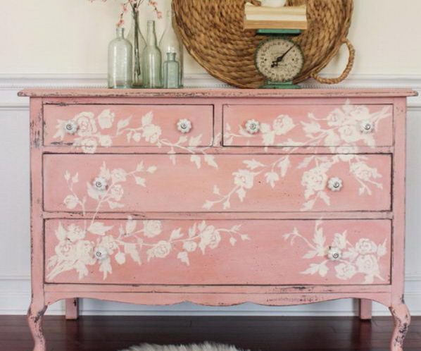 Fantistic DIY Shabby Chic Furniture Ideas & Tutorials - Hative