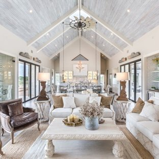 75 Most Popular Shabby-Chic Style Living Room Design Ideas for 2019