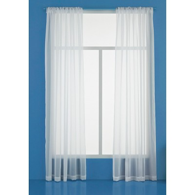 Sheer Curtain Panel - Room Essentials™ : Target