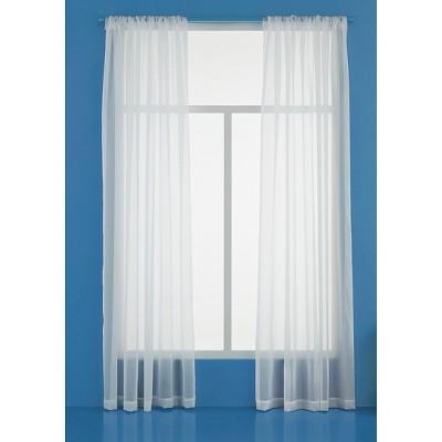 Sheer Curtain Panel - Room Essentials™ : Target