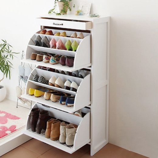 This. It is one of the most space-efficient shoe storage solutions I