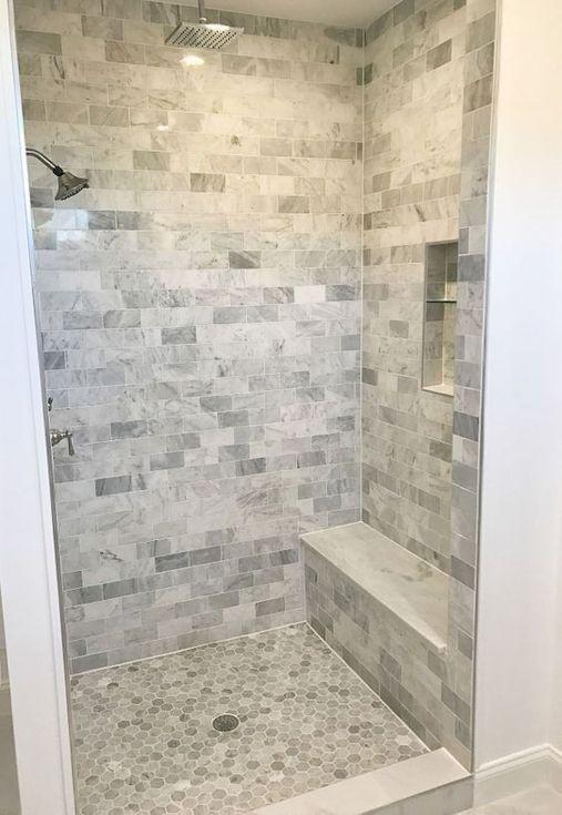 90 Insane Rustic Farmhouse Shower Tile Remodel Ideas | Bathrooms