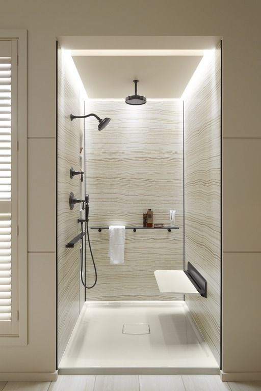 Shower remodel- making the bathing experience better
