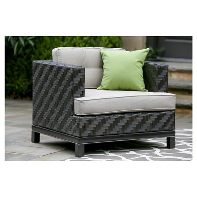 Rachel Single Arm Chair With Sunbrella Fabric Cast - Ash - AE