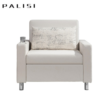 Cheap Price Simple White Sliding Folding Single Seat Sofa Bed - Buy