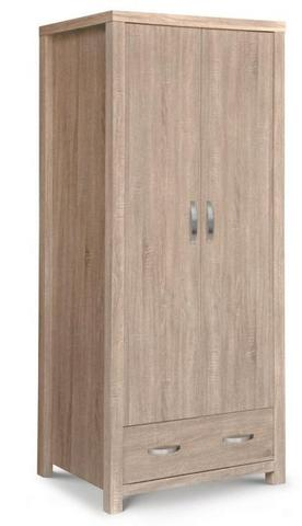 Hamilton 2 Door Single Wardrobe | Mattress Mick's