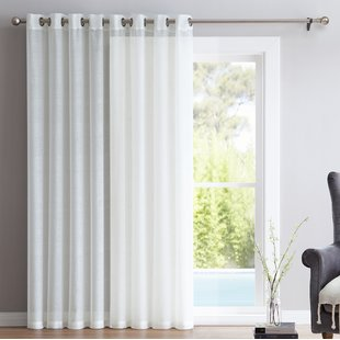 Sliding Glass Door Curtains | Wayfair