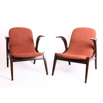 Vintage Small Armchairs, Set of 2 for sale at Pamono