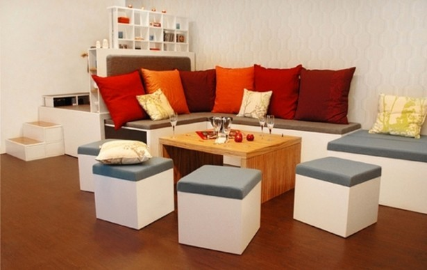 Small Room Design: perfect finishing small armchairs for living room
