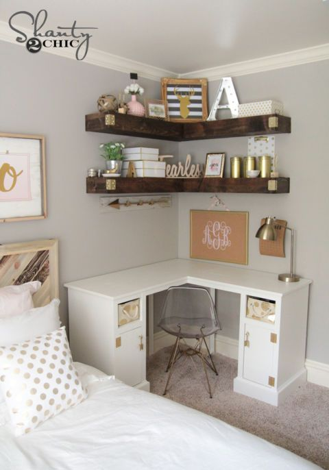 10 Brilliant Storage Tricks for a Small Bedroom | For the Home
