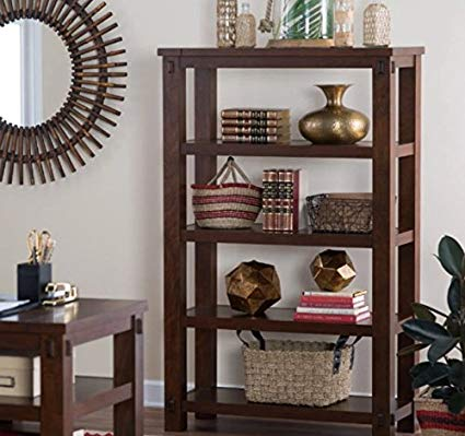 Amazon.com: Small Bookcase, Narrow Bookcases, Horizontal ,With