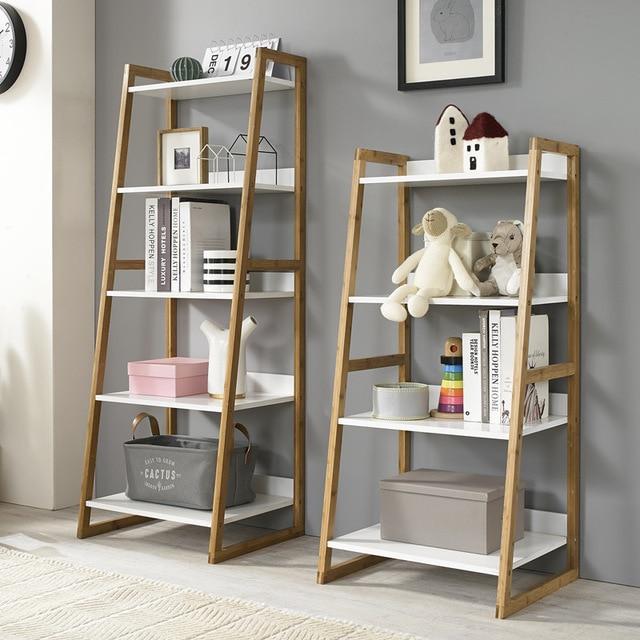 Louis Fashion Bookcases Solid wood shelf living room landing bedroom