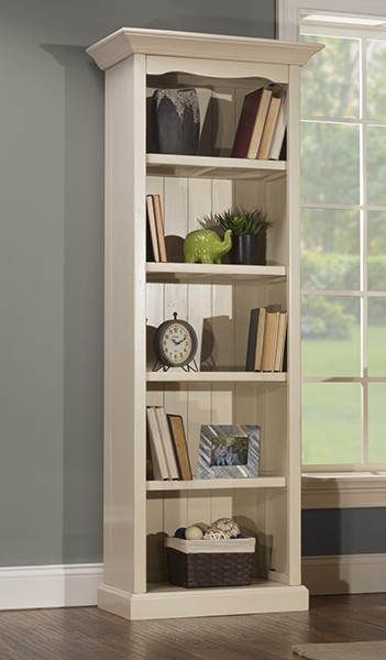 Tuscan Retreat(r) Small Bookcase - K/d - Ctn A - Solid Country White