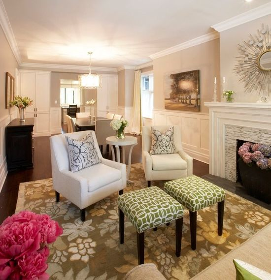 Amazing Living Room With Accent Chairs Small Living Rooms Small