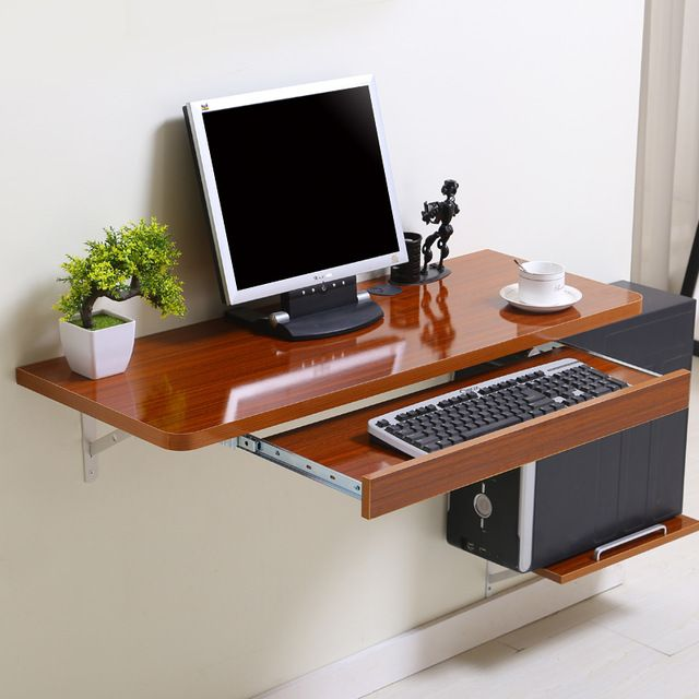 DIY Computer Desk Ideas Space Saving (Awesome Picture) | Small desk