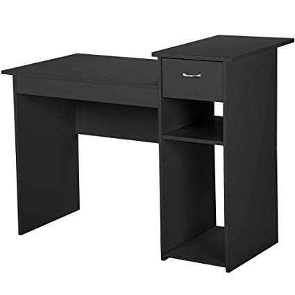 Amazon.com: Topeakmart Small Computer/Office Desk Workstation for