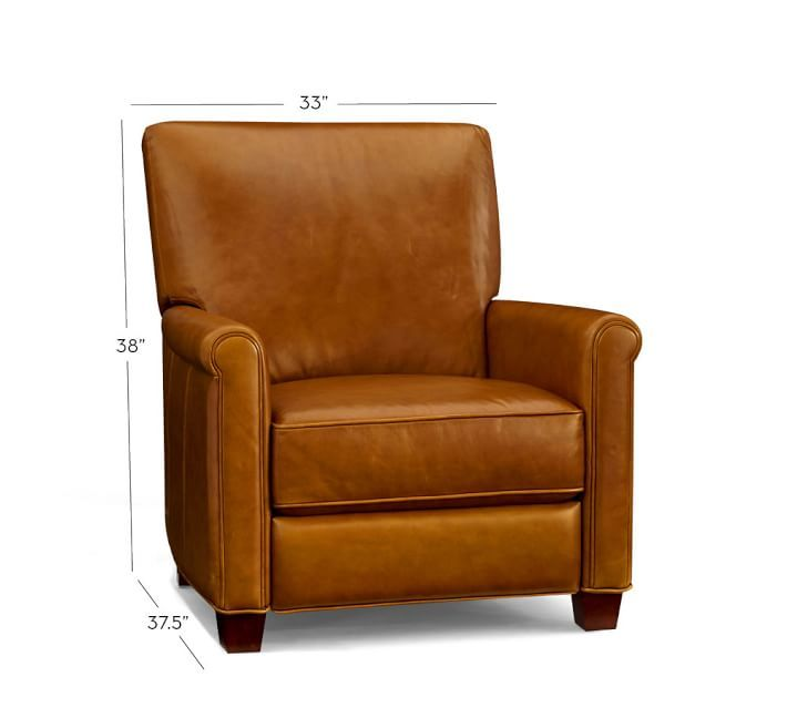irving-leather-recliner-o | Small male den | Pinterest | Leather